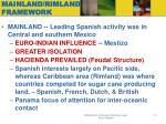 mainland rimland framework