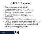cable transfer