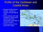profile of the caribbean and coastal areas