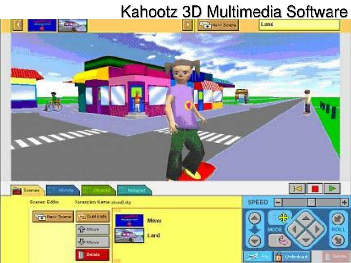 Kahootz 3D Multimedia Software