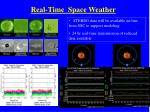real time space weather