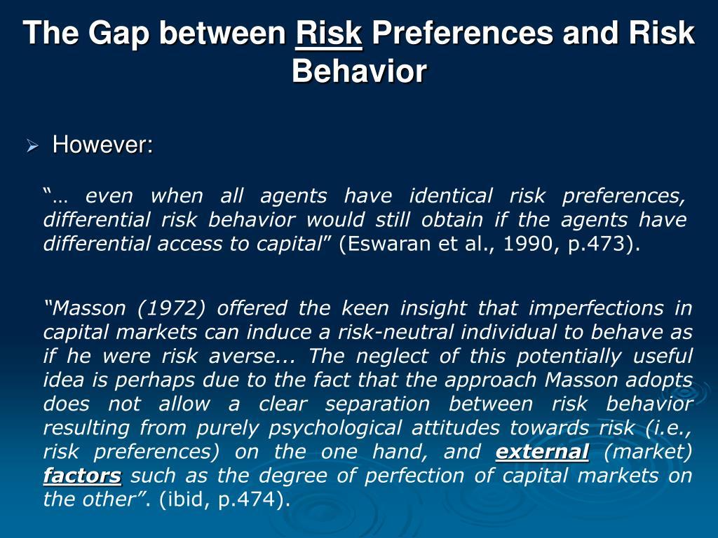 The Gap between