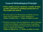 general methodological principle