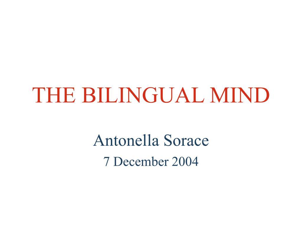 the bilingual mind l.