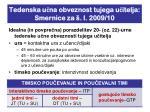tedenska u na obveznost tujega u itelja smernice za l 2009 10