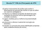 decreto n 7 510 de 29 de janeiro de 1976