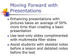 moving forward with presentations