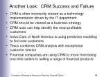 another look crm success and failure