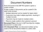 document numbers36