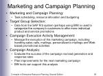 marketing and campaign planning55