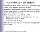 overview of fitter snacker6