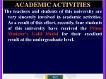academic activities9