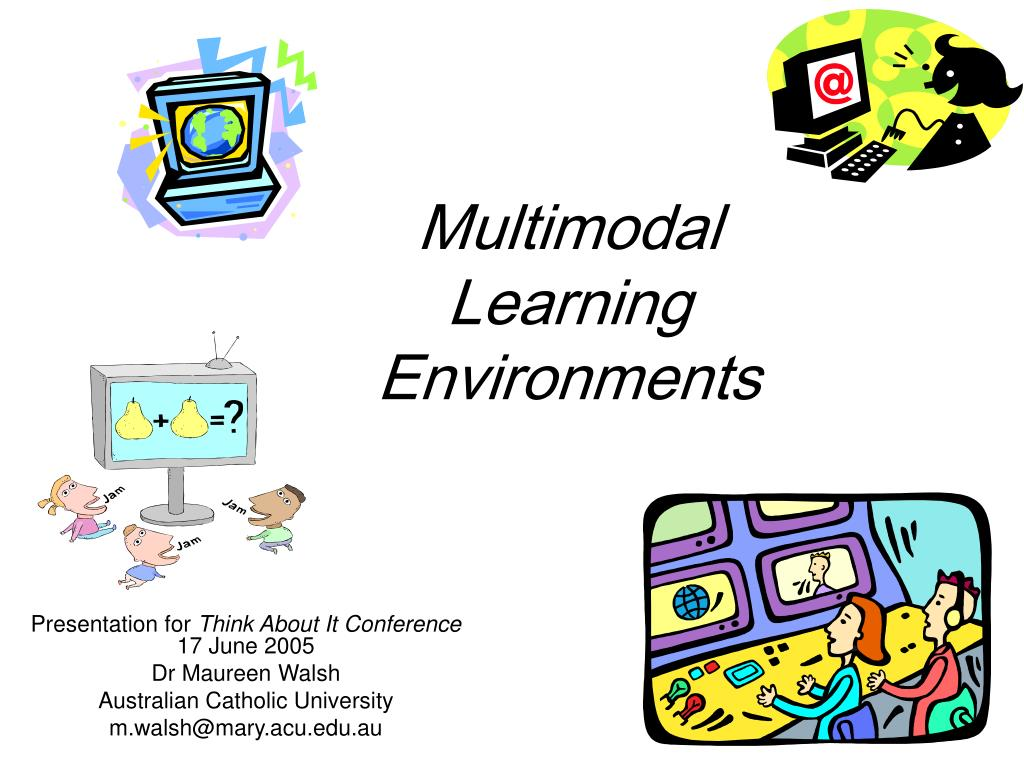 multimodal learning environments l.