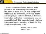 accessible technology initiative