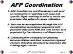 afp coordination63