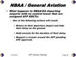 nbaa general aviation