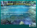 model calibration data