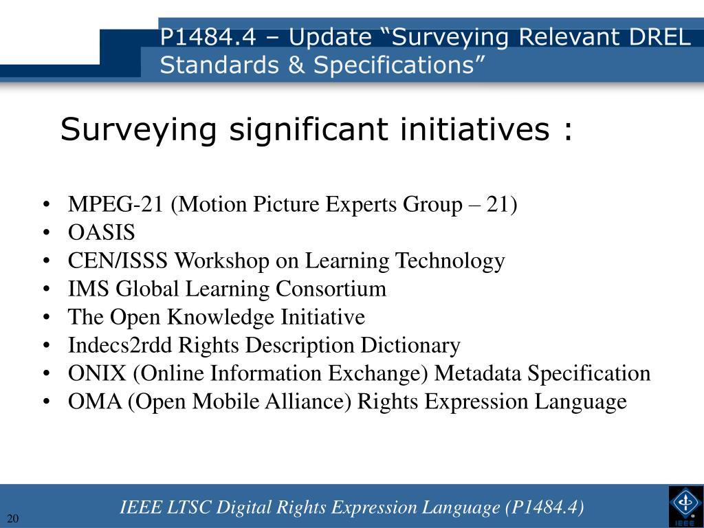P1484.4 – Update