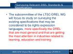 surveying relevant drel standards specifications