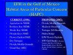 efh in the gulf of mexico habitat areas of particular concern hapc