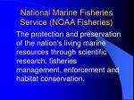 national marine fisheries service noaa fisheries