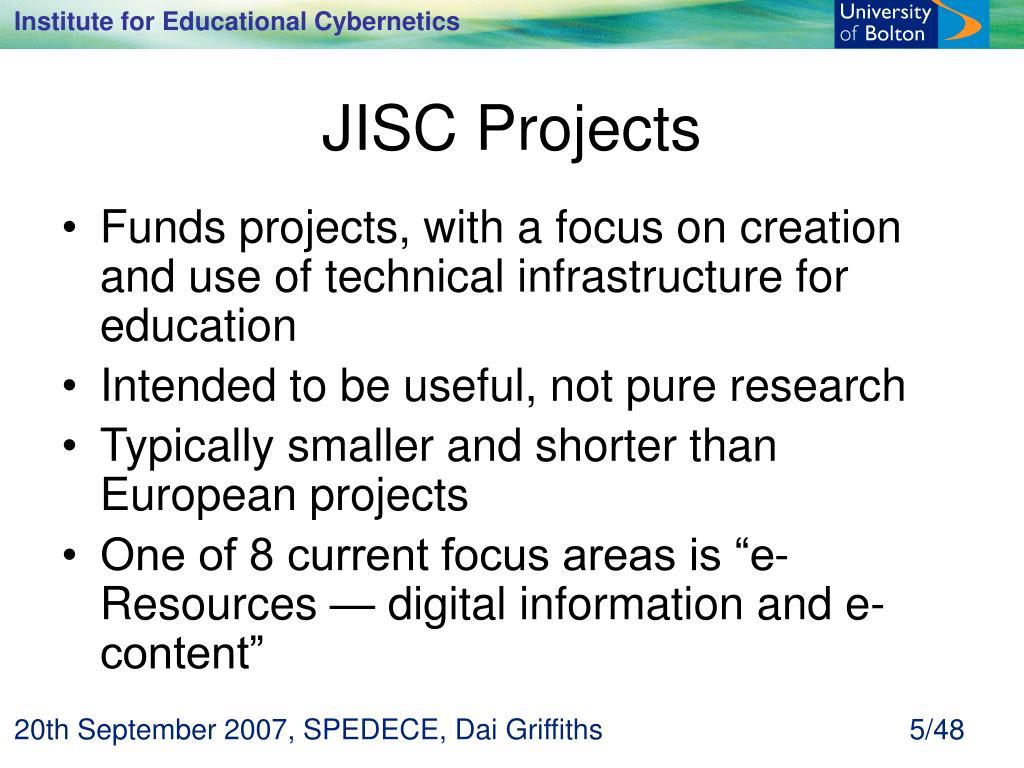 JISC Projects