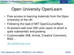 open university openlearn