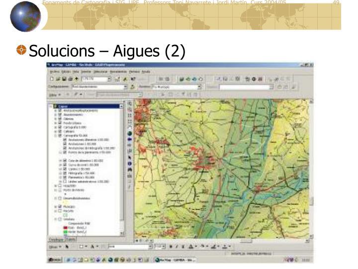 Solucions – Aigues (2)