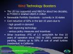 wind technology boosters