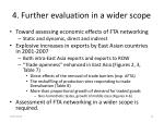 4 further evaluation in a wider scope