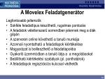 a movelex feladatgener tor