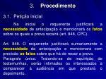 3 procedimento