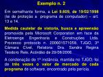 exemplo n 2