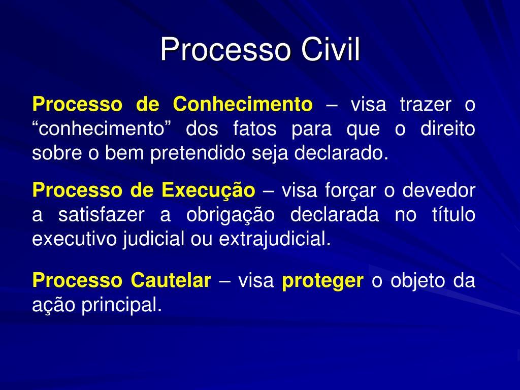 processo civil l.