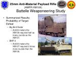 battelle weaponeering study