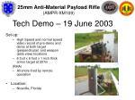 tech demo 19 june 2003