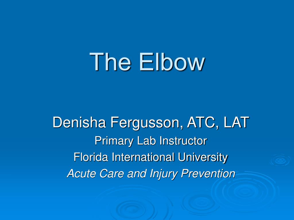 the elbow l.