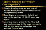 sports medicine for primary care physician s10