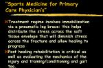sports medicine for primary care physician s11