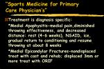 sports medicine for primary care physician s18
