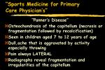 sports medicine for primary care physician s20