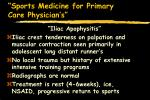 sports medicine for primary care physician s22