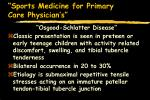 sports medicine for primary care physician s23