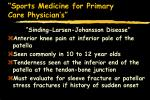 sports medicine for primary care physician s25