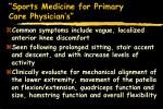 sports medicine for primary care physician s30