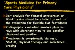 sports medicine for primary care physician s31