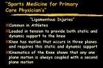 sports medicine for primary care physician s37