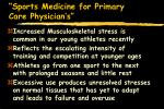 sports medicine for primary care physician s4