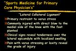 sports medicine for primary care physician s42