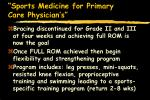 sports medicine for primary care physician s44